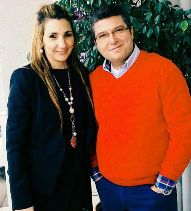 Ehepaar Ferrarini